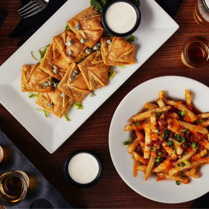 Big Whiskeys American Restaurant and Bar catering menu items.