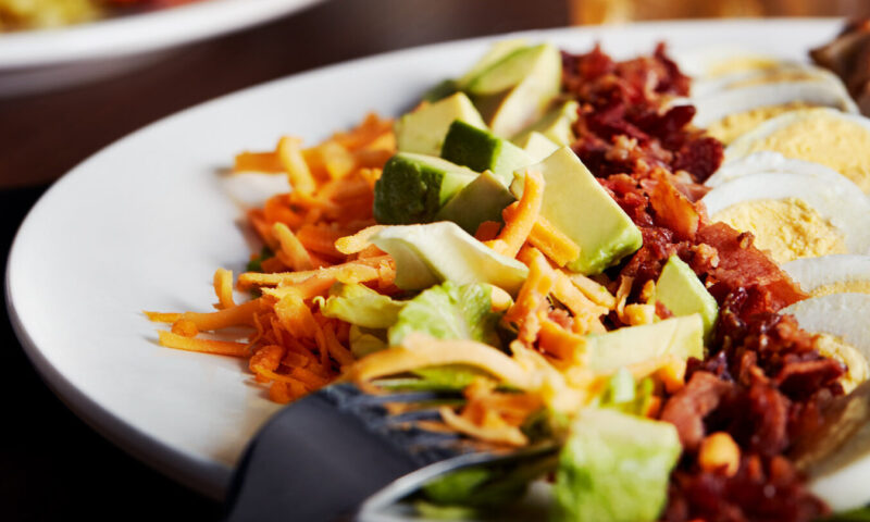 gluten friendly cobb salad