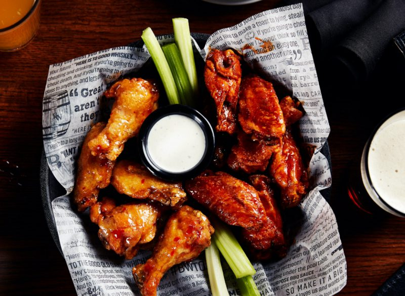 Menu Wings