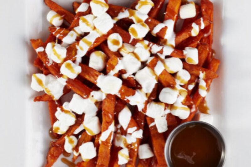 Sweet Potato Loaded Fries