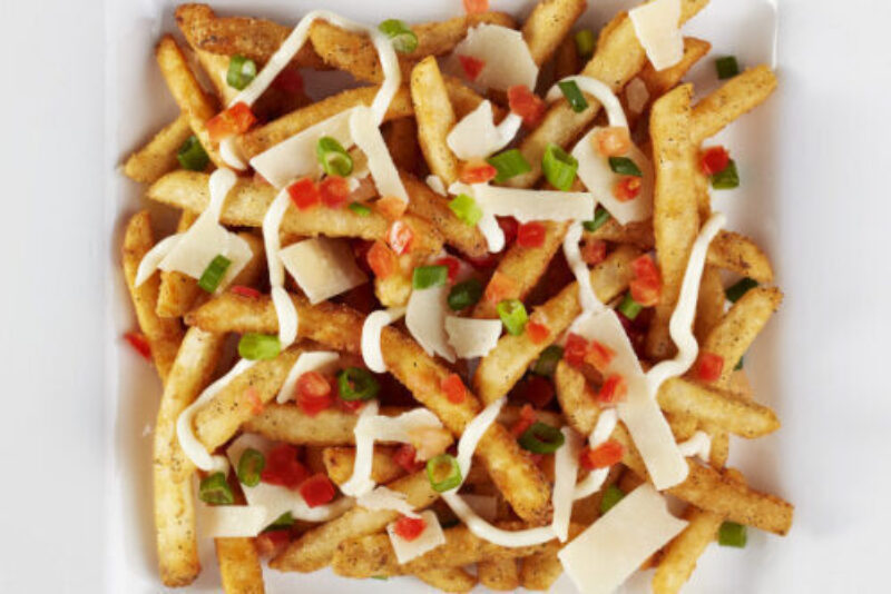 Truffle Aioli Parmesan Fries