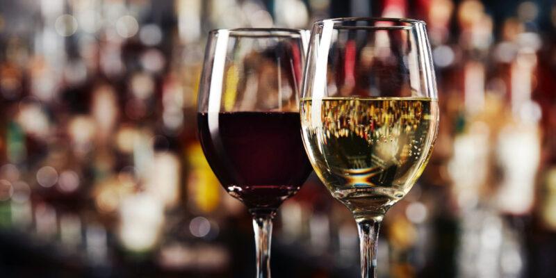 Best happy hour wine menu