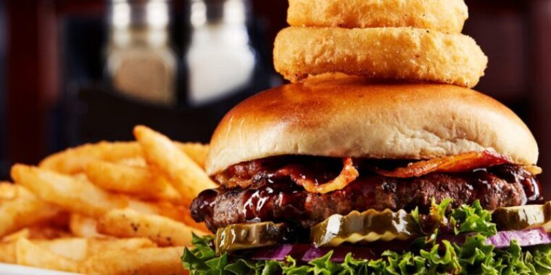 Big whiskeys american sports bar menu burger