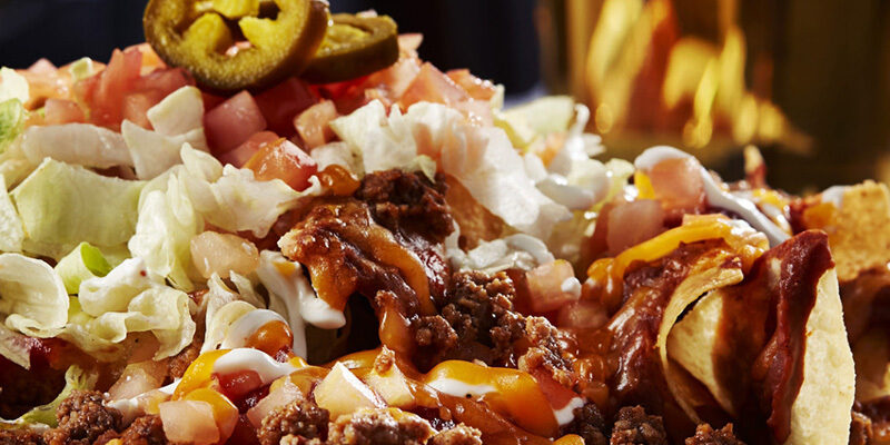 Big whiskeys sports bar menu nachos
