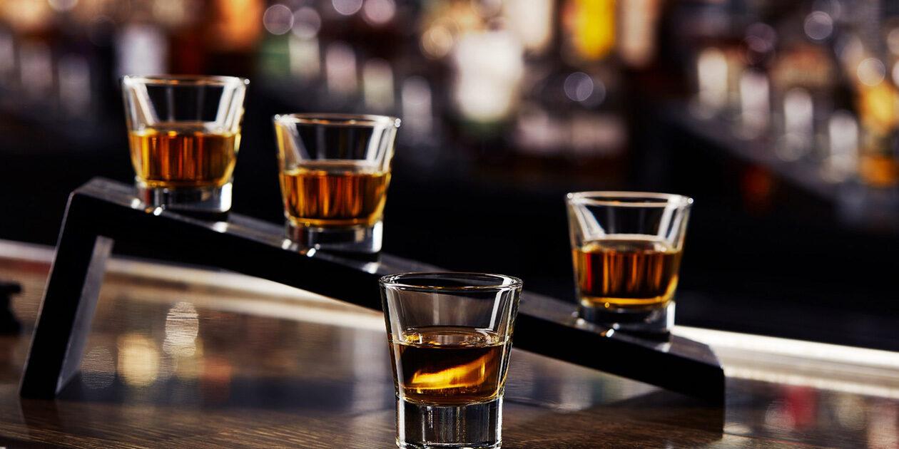 Best Friday Happy Hour Whiskey Flights
