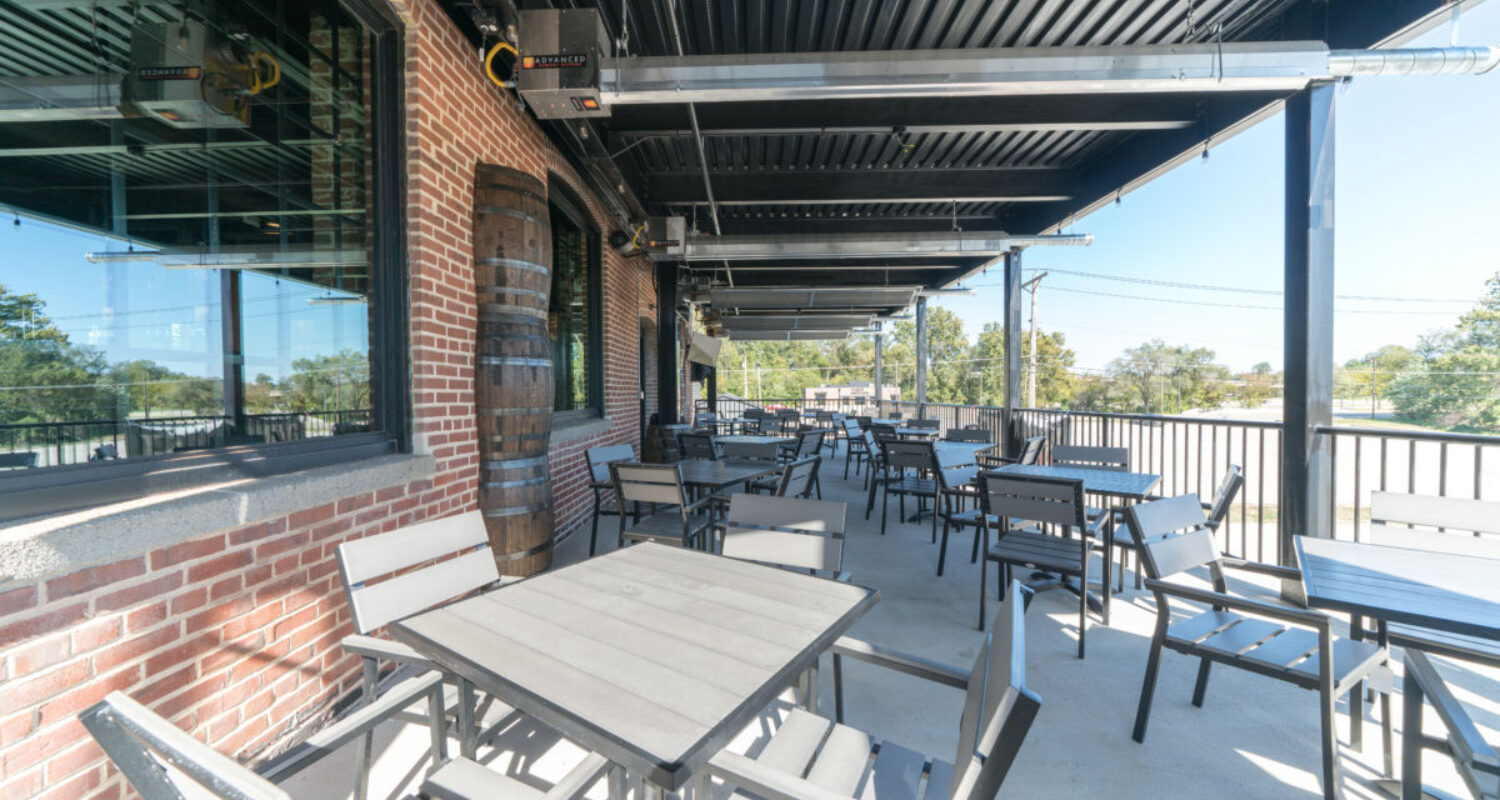 Jefferson City restaurants patio for outdoor dining