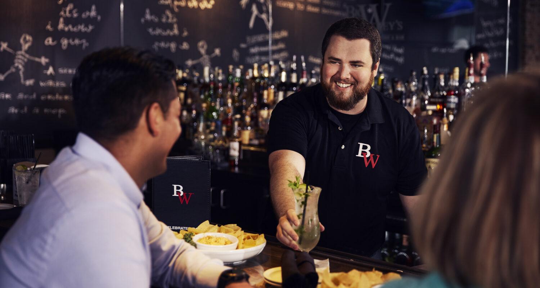 American restaurant best service